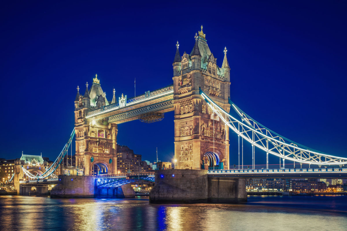 51673992 - tower bridge at the blue hour